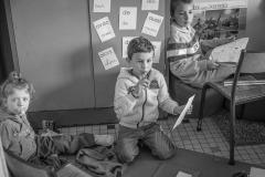 Enfants des soignants en classe