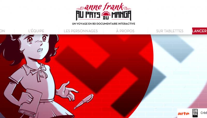 Anne Franck au pays des mangas