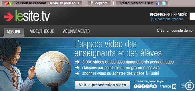 Le site.tv