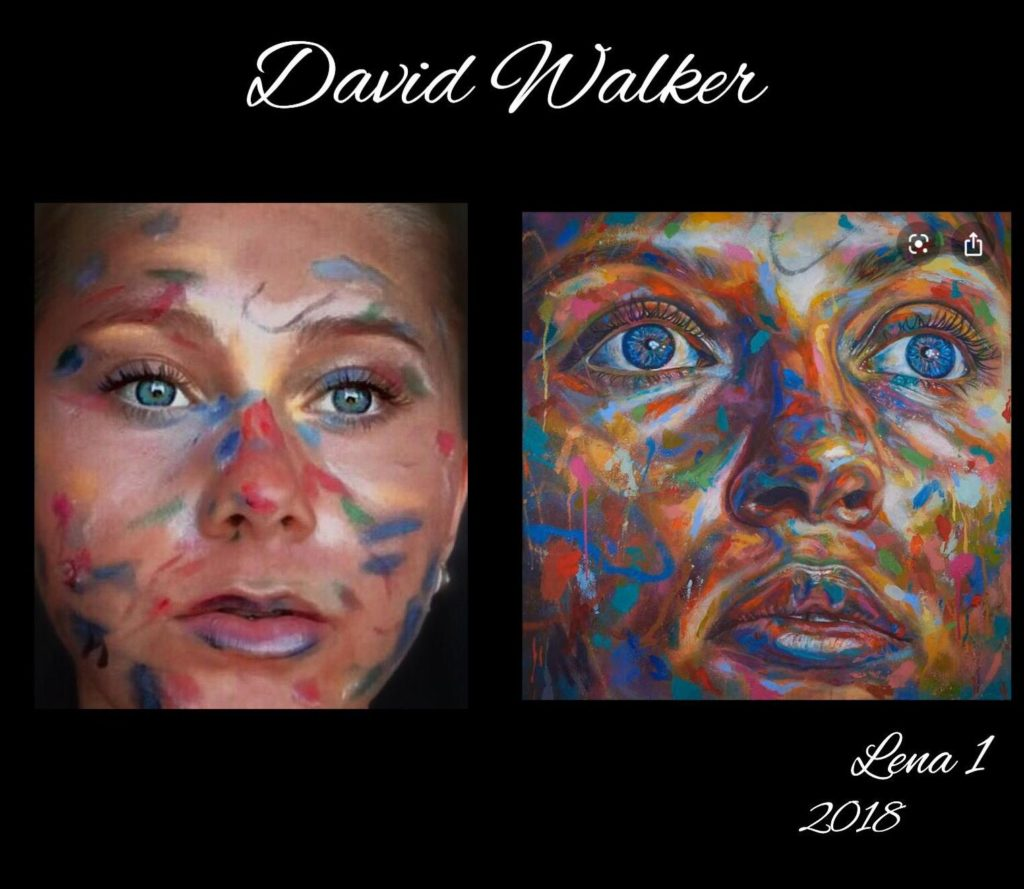 Lena 1 by David Walker and Manon 2018