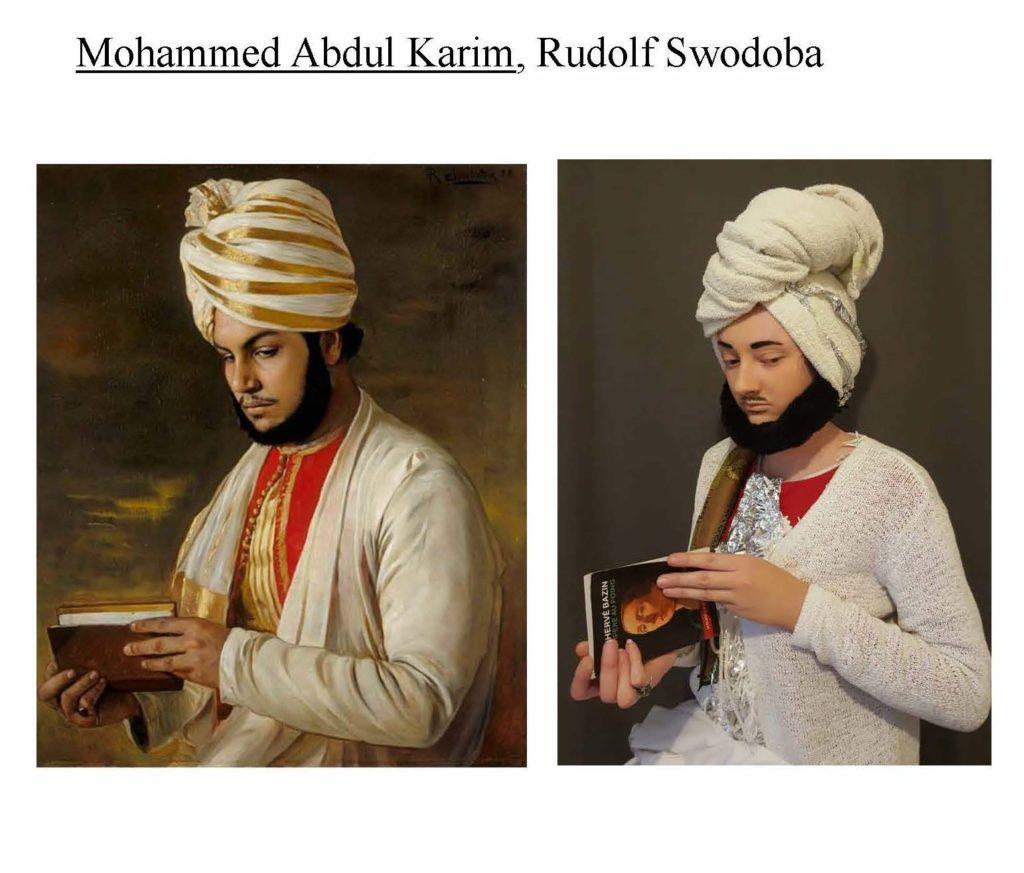 Mohammed Abdul Karim by Rudolf Swodoba and Roxane, 1888