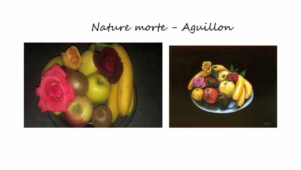 Nature morte by V. Aguillon and Eulalie